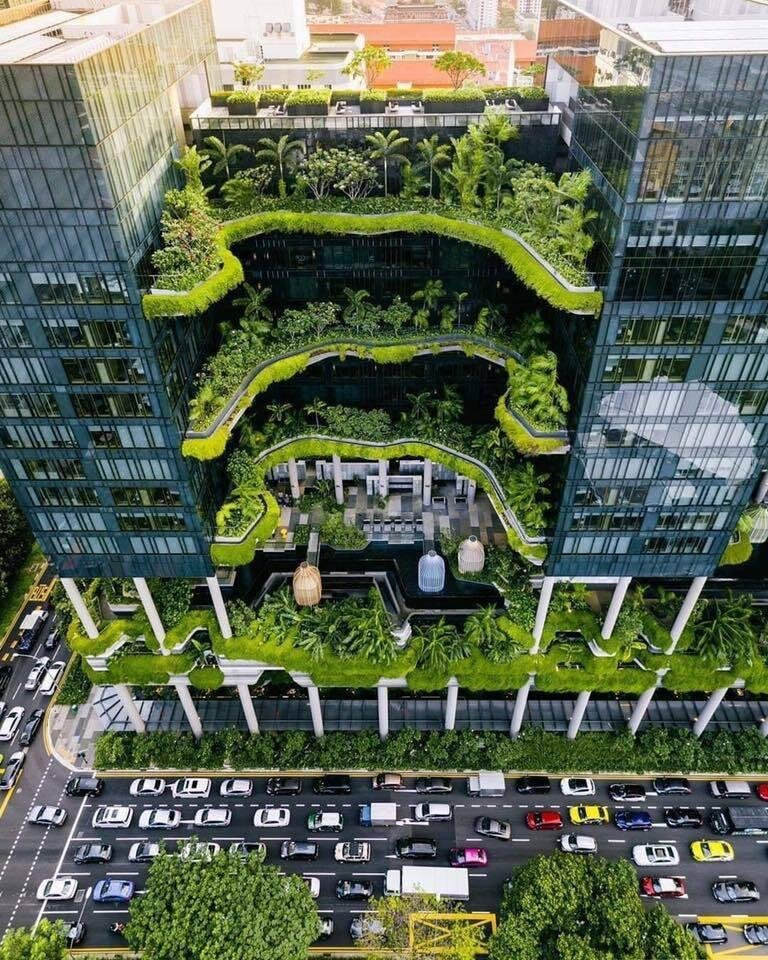 Eco Building in Singapore