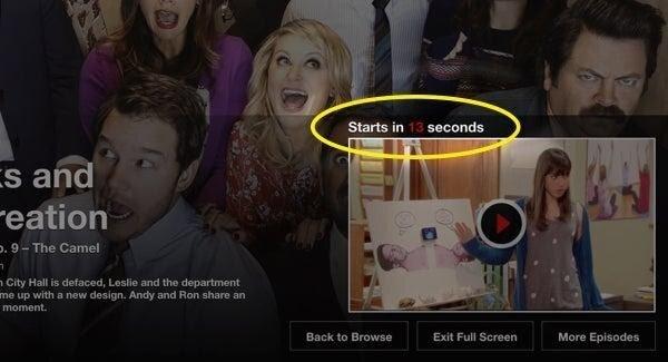 Netflix automatic queue