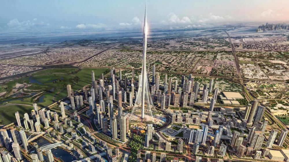 The Dubai Creek Tower (source: EMAAR Properties)