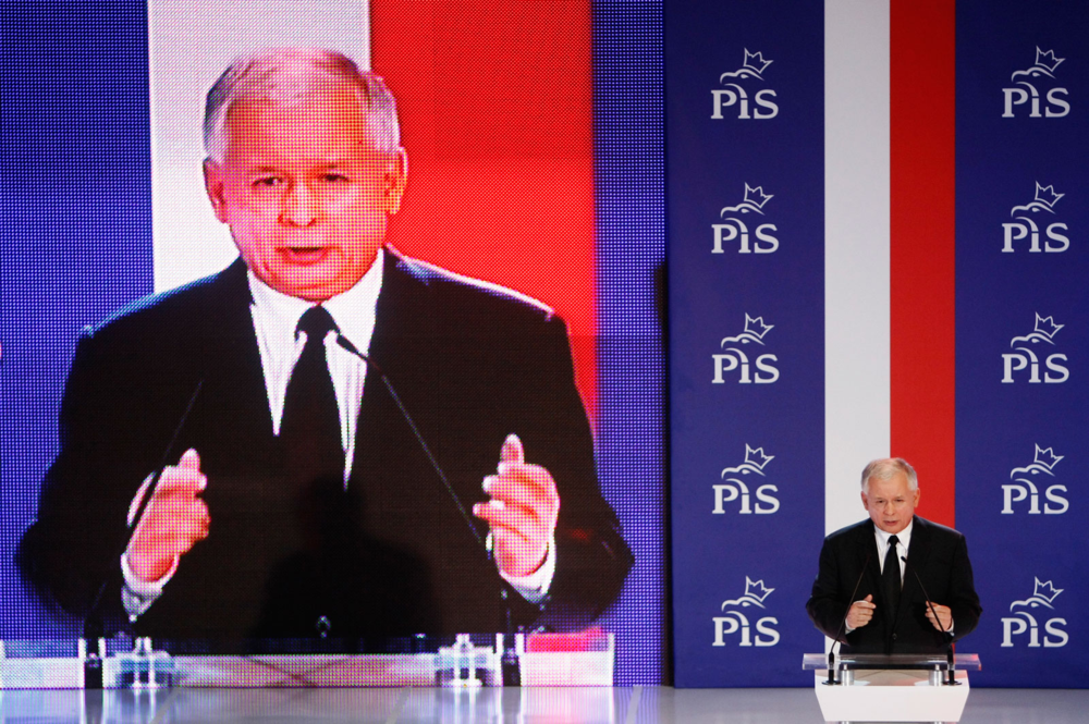 Image 2 - Jarosław Kaczyński, the leader of PiS. This politician has been successful for the rise of a nationalist, conservative movement throughout the Polish territory.