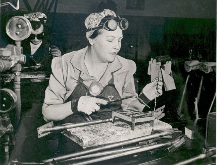 Rosie the Riveter Inspired women to serve in World War II