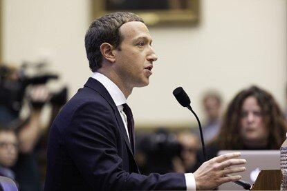 Figure 2 - Mark Zuckerberg, CEO of Facebook Inc. testifying before US Congress
