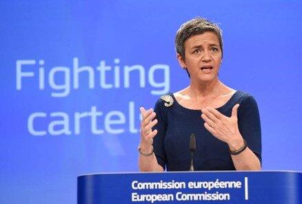 Figure 1 - EU Competition Commissioner Margrethe Vestager