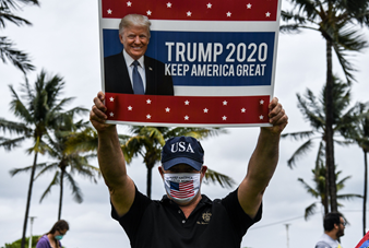 Supporter of Trump's 2020 campaign
