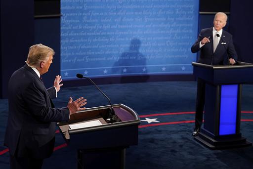 The Trump vs Biden Debate, on the 29th of September