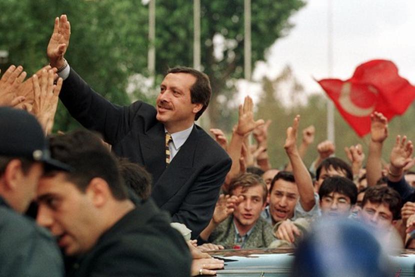 Erdogan as mayor of Istanbul. Source: Wall Street Journal