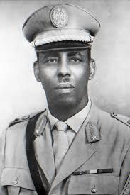Dictator Siad Barre of Somalia